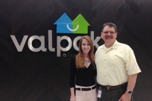 Mark and Diana at Valpak Mar2015